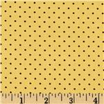 Apple Blossom Acres Dots Yellow