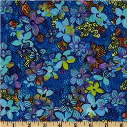 Midnight Gardens Small Floral Blue