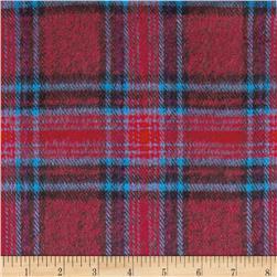6 oz. Flannel Plaid Red/Black/Blue
