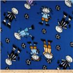 Wintry Fleece Soccer Play Blue