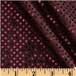 0264829 Dazzle Metallic Sequin Knit Burgundy