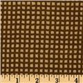 Alpine Flannel Gingham Brown