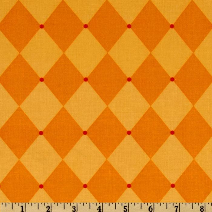 Michael Miller Andalucia Jester Tangerine