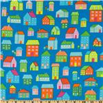 Irving Street Flannel Neighborhood Blue