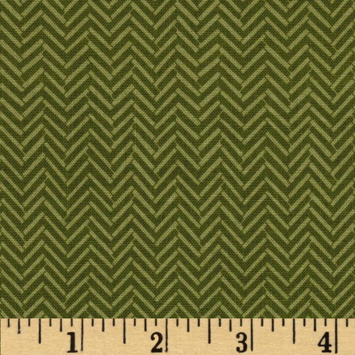 Riley Blake Maverick Chevron Olive