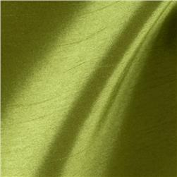 Caprice Faux Silk Apple Green