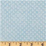 Babysaurus Geometric Flowers Blue