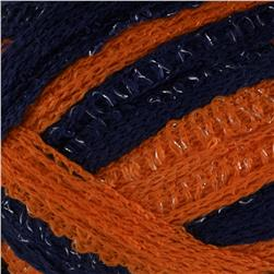 Red Heart Boutique Sashay Team Spirit Yarn Orange/Navy