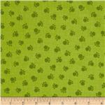 212535 Moda Prisma Cats Prima Paws Lime