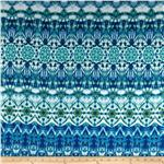 0280085 Runway Pizzaz Stripe Blue