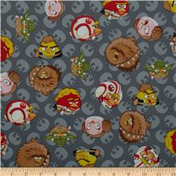 Star Wars Angry Birds Rebel Leaders Grey