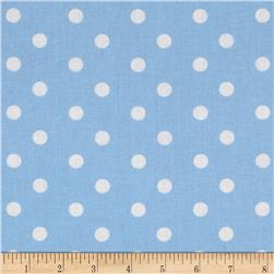 Baby Talk Aspirin Dot Blue/White