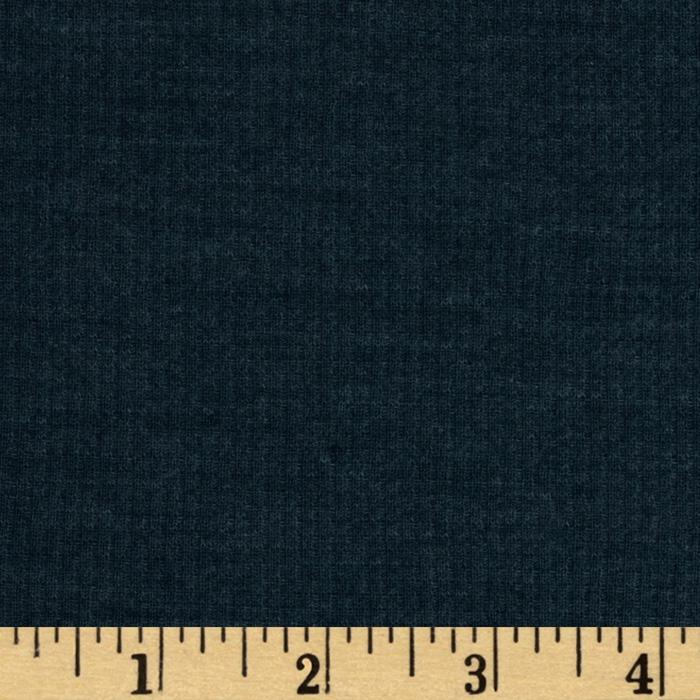 Rayon Blend Thermal Knit Heather Blue