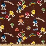 M &amp; M Funfetti Allover Brown