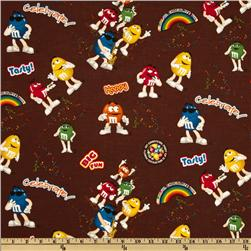 M & M Funfetti Allover Brown