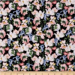 Birdsong Packed Floral Black