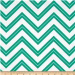 Cruzin&#39; Chevron Stripe Teal