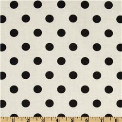 Moda Dottie White/Black