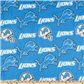 NFL Fleece Detroit Lions Blue/White