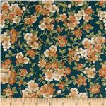 0265907 Tea House Cherry Blossom Teal