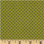 Riley Blake Pirate Matey&#39;s Pirate Dots Green