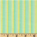 Brights & Pastels Basics Stripe Light Green/Yellow