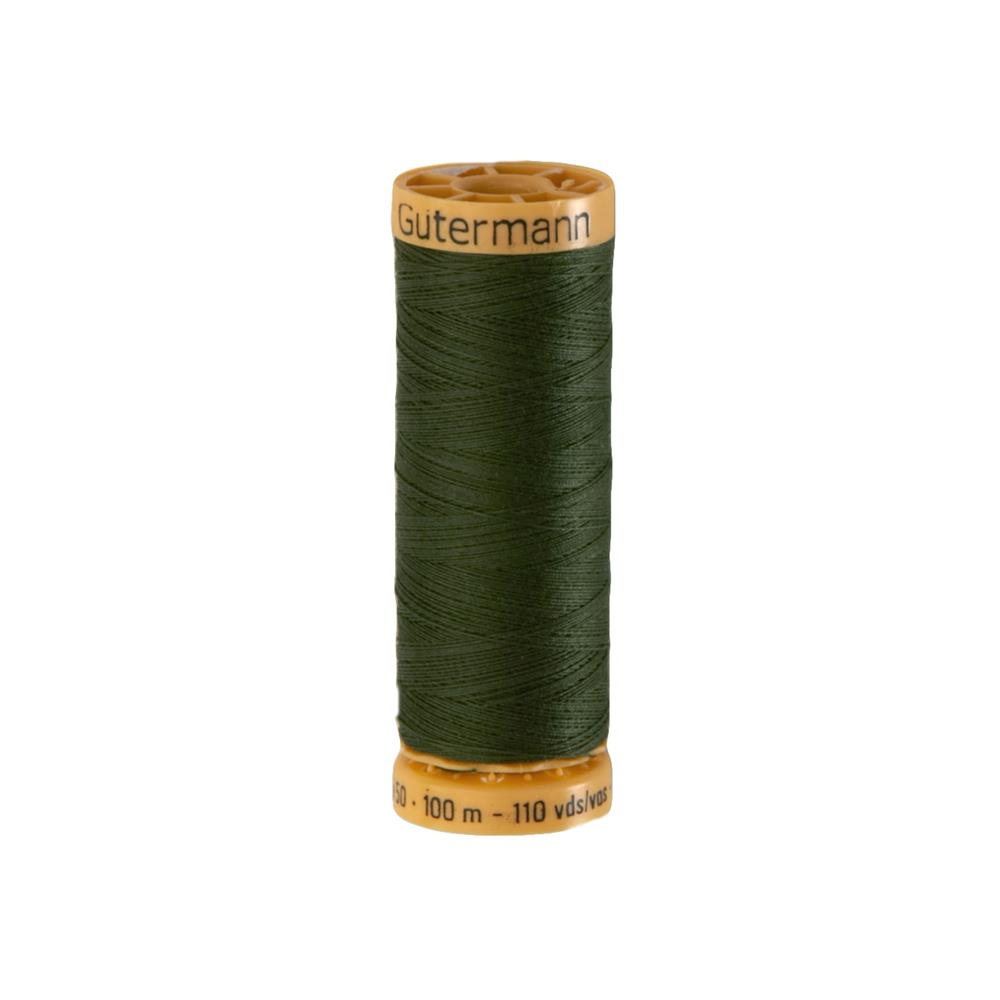 Gutermann Natural Cotton Thread 100m/109yds Spruce