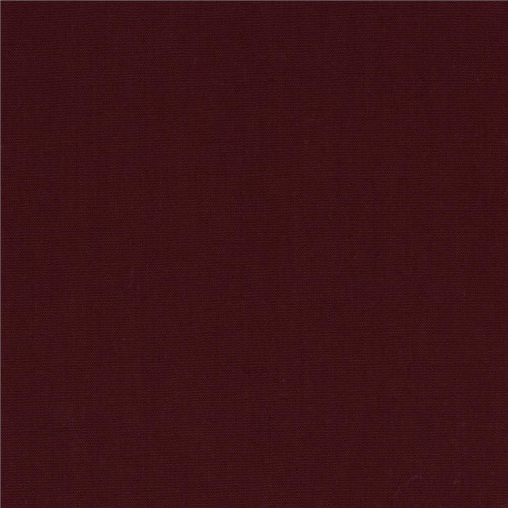 Water Repellent Nylon Maroon
