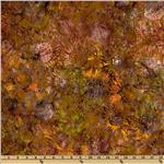 FS-688 Artisan Batik: Cornucopia 3 Sunflower Pumpkin