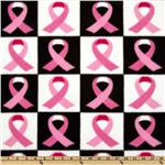 235556 Winterfleece Ribbon Checkers Pink