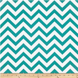 Premier Prints Indoor/Outdoor Zig Zag Ocean