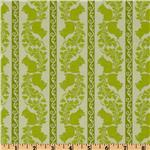 FB-445 Garden Of Delights Squirrely Stripe Green