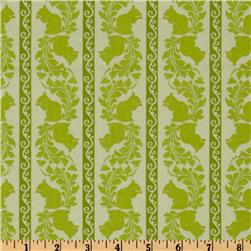Garden Of Delights Squirrely Stripe Green