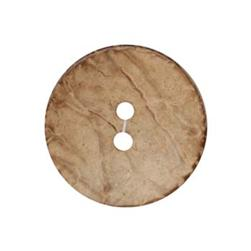 Genuine Natural Coconut Button 1 1/2'' Brown