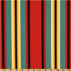Swavelle/Mill Creek Indoor/Outdoor Trudy Stripe Poppy