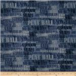0292393 Who&#39;s On First Baseball Words Blue