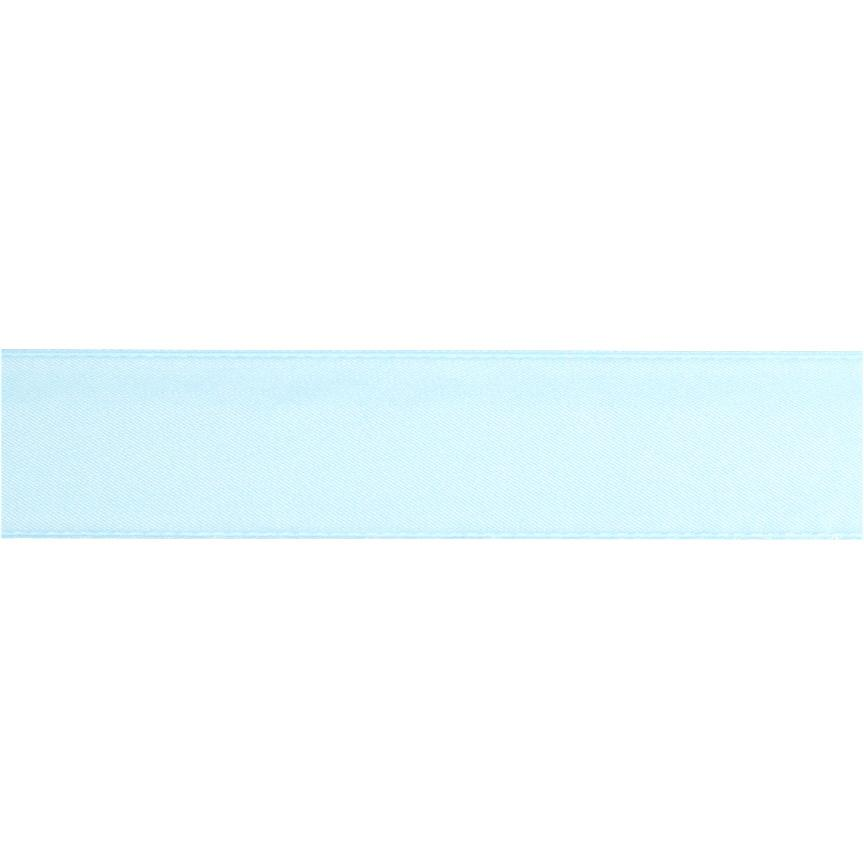 1 1/2&#39;&#39; Double-sided Satin Ribbon Light Blue