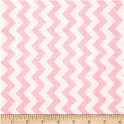 Riley Blake Small Chevron Pink