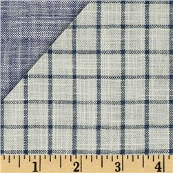 Kaufman Double Cloth Cotton Indigo