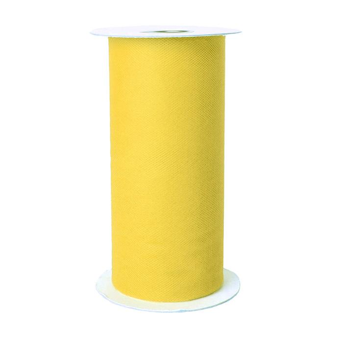 Tulle Spool Lemon