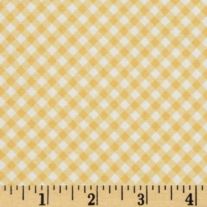 Riley Blake Calliope Gingham Yellow