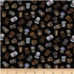 Stitch In Time Thimbles Black