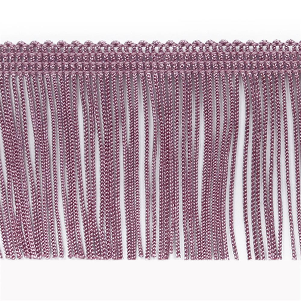"4"" Chainette Fringe Trim Plum"