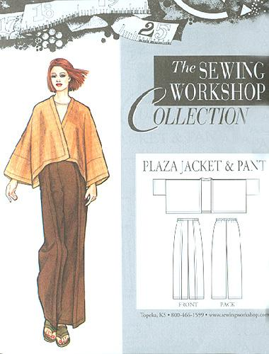 The Sewing Workshop Plaza Jacket & Pants Pattern
