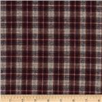 0266690 Yarn Dyed Flannel Medium Plaid Red/Black