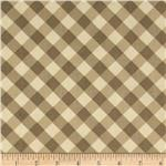 Premier Prints Checker Plaid Storm Maple/Natural