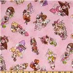 FA-513 Loralie Designs Hey Cupcake Cupcake Beauties Pink