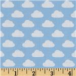 211342 Toy Tales Clouds Aqua