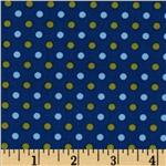 Dilly Day Dots Navy
