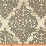 Reba Jacquard Damask Silver